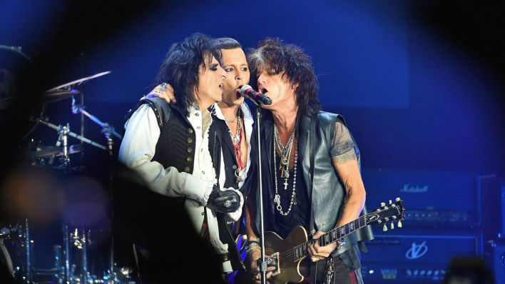 Hollywood Vampires (Quelle: imago/Persona Stars)