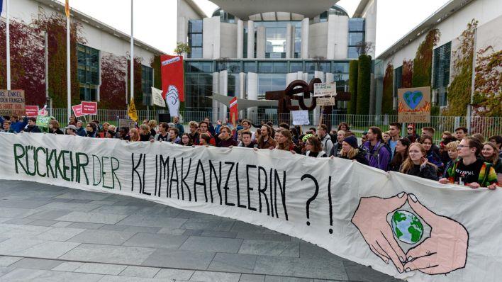 die klimaschutz proteste in bildern rbb24