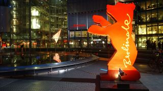 Der Berlinale Bär im Sony-Center am Potsdamer Platz; © Berlinale