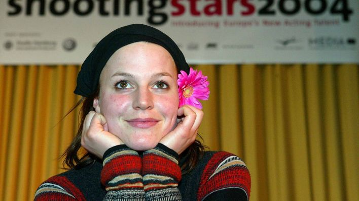 Maria Simon Shooting Star 2004 (Quelle: Sören Stache/dpa)