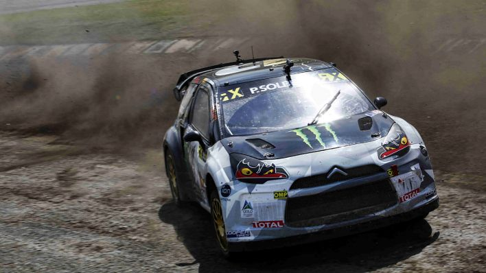 Rallycross-Weltmeister Peter Solberg am 24.05.2015 in Lydden Hill (Quelle: imago/PanoramiC)
