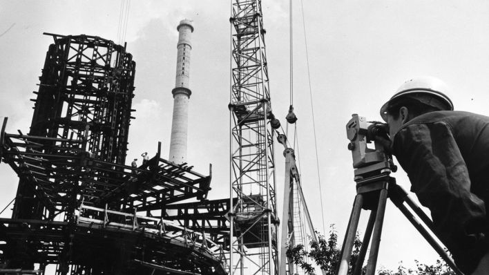 Baubeginn Vor 50 Jahren Wissenswertes über Den Berliner