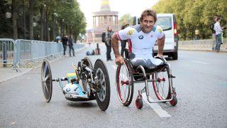 Berlin Zanardi Marathon (Sumber: rbb / Schneider)