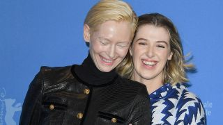 Tilda Swinton und Tochter Honor Swinton-Byrne (Quelle: imago/Matrix)