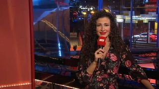 Marwa Eldessouky im Berlinale Studio (Quelle: rbb)