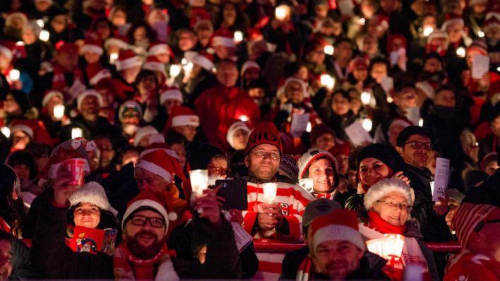 Keine Veranstaltung im Stadion: Unioner Weihnachtssingen findet in diesem Jahr zu Hause statt