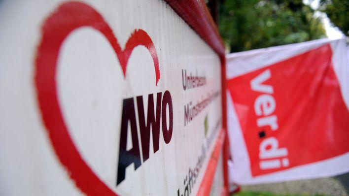 Lohnlücke Von 500 Euro Hunderte Awo Erzieherinnen Streiken Erneut