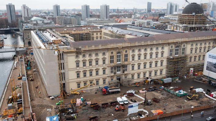 Eröffnung 2019 Geplant Berliner Schloss Fehlen Noch 18 Millionen