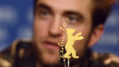 Robert Pattinson auf der Berlinale 2018 8Quelle: dpa/Chesnokova)