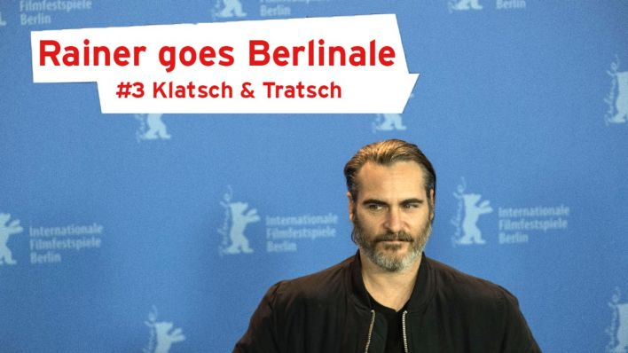 Berlin: Don't Worry, He Won't Get Far on Foot A press conference of Don't Worry, He Won't Get Far on Foot during the Berlinale 2018. Joaquin Phoenix. (Quelle: imago/Beata Siewicz)