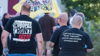 Demonstration von Neonazis in Frankfurt/O. (Quelle: imago/Ditsch)