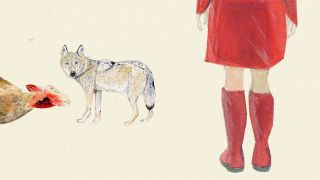 Illustration: Der Wolf in Brandenburg (Quelle: rbb|24/Caroline Winkler)