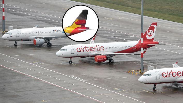 Schick In Den Sinkflug Wie Sich Air Berlin Vor Der Insolvenz Ein