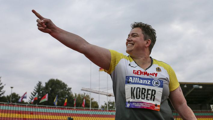 Schnelle Lieferung bestbewertetes Original Top-Mode Momente der Para-Leichtathletik-EM in Berlin - Ein echter ...
