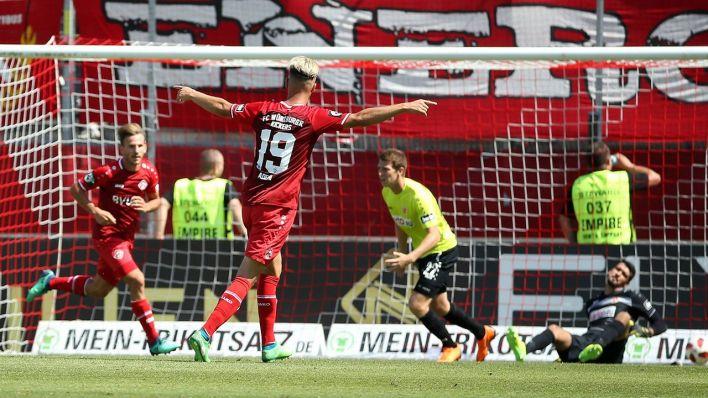 1:3 gegen die Kickers - Würzburg stoppt Cottbuser ...