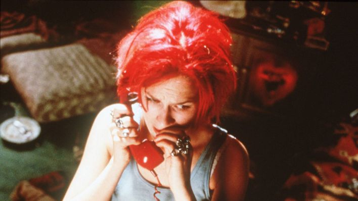 "Franke Potente als Lola in ""Lola rennt"" (Quelle: imago/United Archives)"