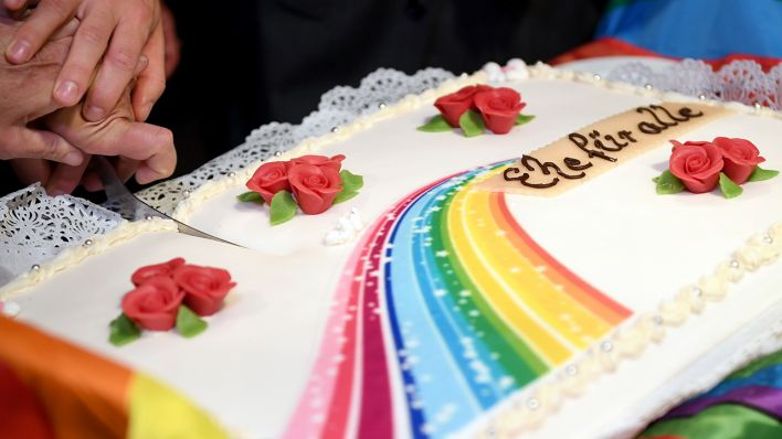 Ein Jahr Ehe Fur Alle Hunderte Homosexuelle Paare Haben Schon
