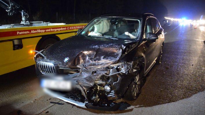 Unfall In Potsdam Mittelmark Sieben Verletzte Bei