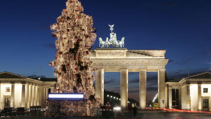 Weihnachtsbaum Berlin.Bildergalerie Oh Tannenbaum Berlin Und Seine Weihnachtsbäume