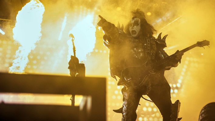 Kiss, eine amerikanische Hard-Rock-Band (Quelle: dpa/Heather Khalifa)