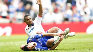 Kevin-Prince Boateng foult Michael Ballack (Quelle: imago/Sportimage)