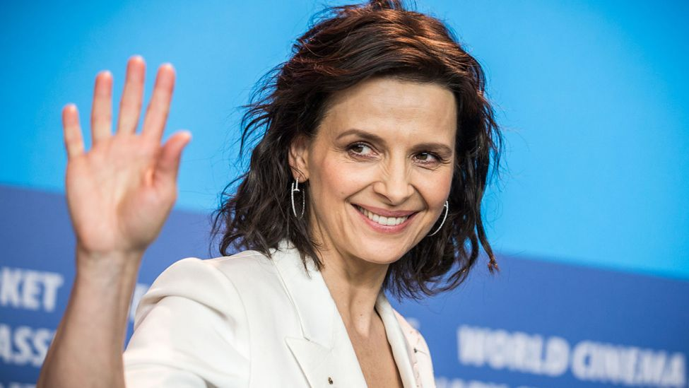 Juliette Binoche in Berlin bei den 65. Internationalen Filmfestspiele (Quelle: dpa/Michael Kappeler)