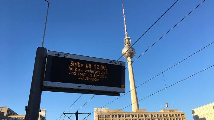 streik bvg berlin 2019