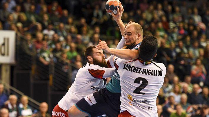 Mühsamer Sieg für die Füchse Berlin im EHF-Cup  29 27-Erfolg gegen BM  Logrono La Rioja  2b8d7db85ab4b