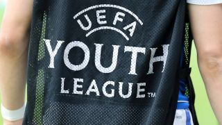 Ein Spieler der UEFA-Youth-League. Quelle: imago/foto2press