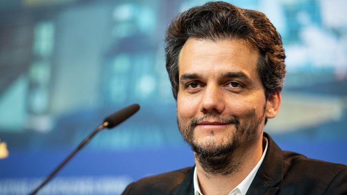 Wagner Moura attends the 'Marighella' Press Conference during the 69th Berlinale International Film Festival Berlin at Grand Hyatt Hotel on February 15, 2019 in Berlin, Germany. (Quelle: Manuel Romano/NurPhoto)