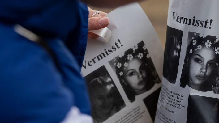 Mädchen i war verschwunden