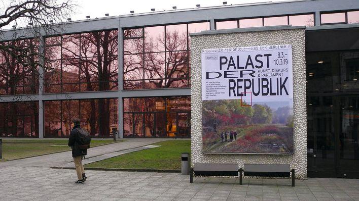 Haus der Berliner Festspiele Künstler lassen Palast der