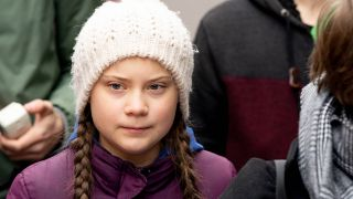 "Die schwedische Schülerin Greta Thunberg, Begründerin der Klimaschutz-Bewegung ""Fridays for Future"", bei ihrem Besuch in Hamburg am 01.03.2019 (Quelle: imago/Chris Emil Janssen)"