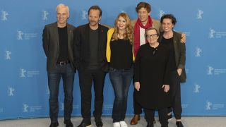 "Archivbild: Photocall and press conference ""Mr.jones"" by Agnieszka Holland. (Quelle: dpa/Siewicz)"