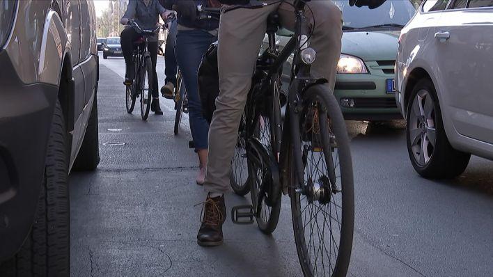 """""""Die Radfahrer fahren manchmal auch wie die Schweine"""""""