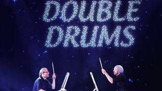 Das Duo Double Drums (Quelle: imago)