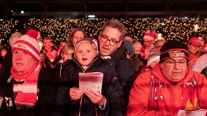 28.500 Union-Fans stimmen sich auf Weihnachten ein