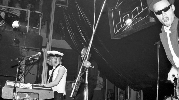 Ideal live im Kurhaus Friedenstal 1981 (Quelle: imago/Future Image)