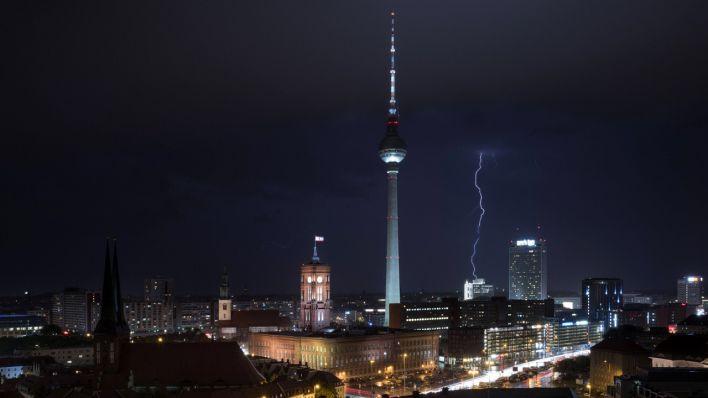 Schwere Gewitter über Berlin und Brandenburg