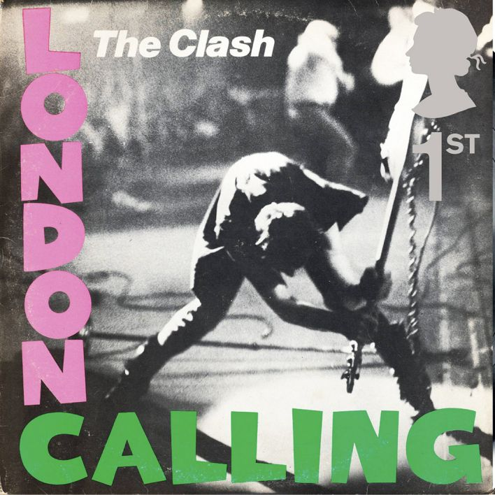 Albumcover von London Calling von The Clash (Quelle: Imago)