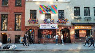 Die berühmte Stonewall in New York. (Quelle: rbb/K. W. Brandenburg)
