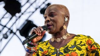 Anglélique Kidjo am 16. Juni 2019 in Toulouse. (Quelle: dpa/Patrick Batard)