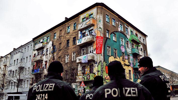 Top Rigaer Straße und Liebigstraße: CDU will Haus mit linkem YT01