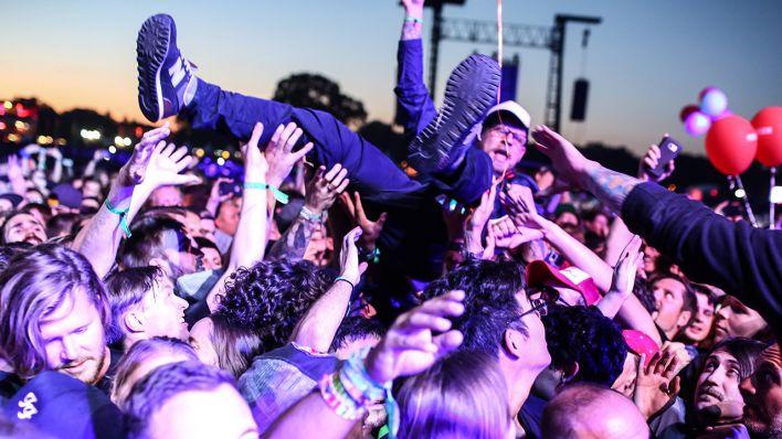 Zehntausende Menschen tanzen erneut beim Lollapalooza