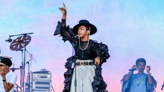 Lauryn Hill beim Glastonbury Festival am 28. Juni 2019 (Quelle: imago images/Matrix).