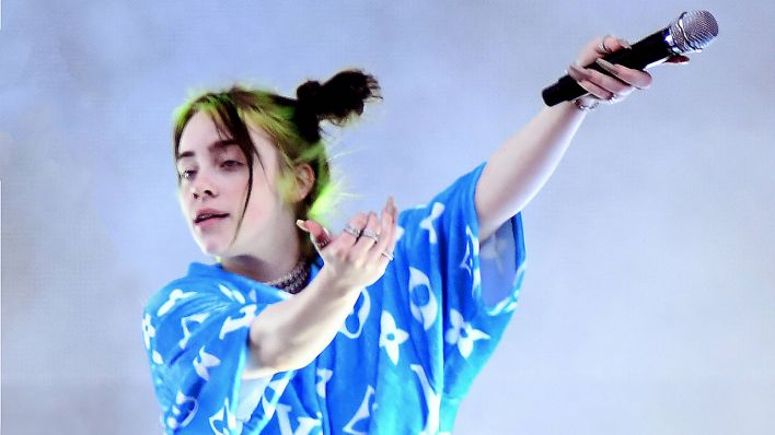 Billie Eilish bei Lollapalooza in Berlin (Quelle: imago images/Jan Huebner/Lakomski)