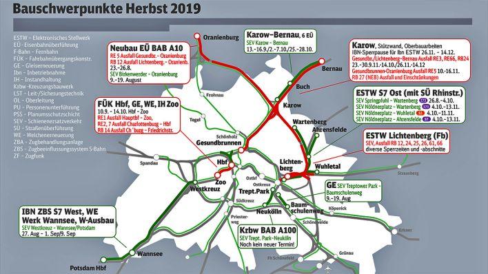 Db Karte Berlin.Wochenlange Bauarbeiten Im S Bahn Netz Und Am Hauptbahnhof