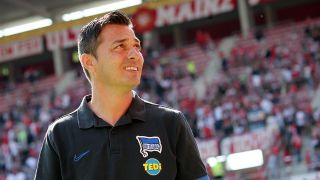 Hertha-Trainer Ante Covic (Quelle: imago images / Thomas Frey)