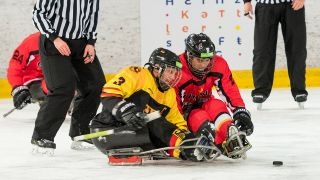 Para-Eishockey-WM in Berlin (Quelle: imago images/Beautiful Sports)