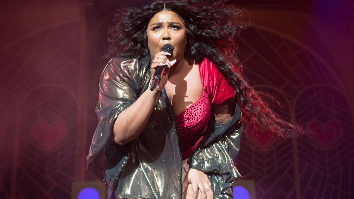 Sängerin Lizzo bei einem Konzert in London im November 2019.